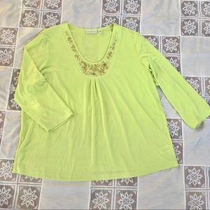 Susan Graver blouse size size XL